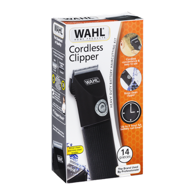 Wahl Cordless Clipper Heavy Duty Battery Haircutting Kit