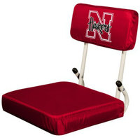 NCAA Logo Nebraska Hard Back Stadium Seat - M