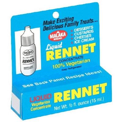 Malaka Brand Liquid Vegetarian Rennet, 0.5 Ounce Bottle