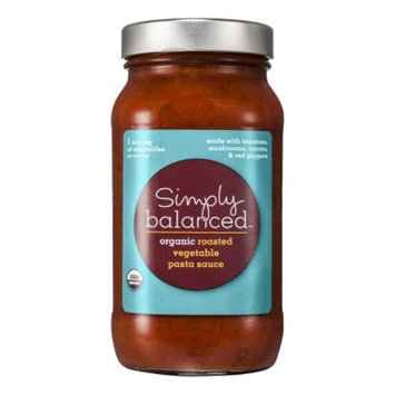 Simply Balanced Organic Roasted Vegetable Pasta Sauce 24 oz