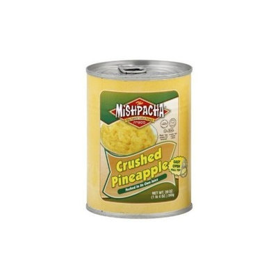 Mishpacha, Fruit Pineapple Crushed, 20 OZ (Pack of 24)