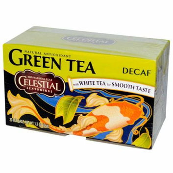 Celestial Seasonings Green Tea Caffeine Free 20 Tea Bags Case of 6