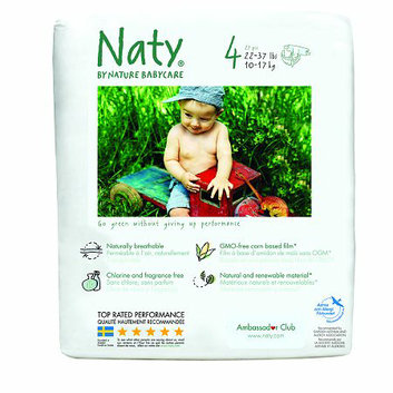 Nature babycare Eco Diapers 108 pack Size 4