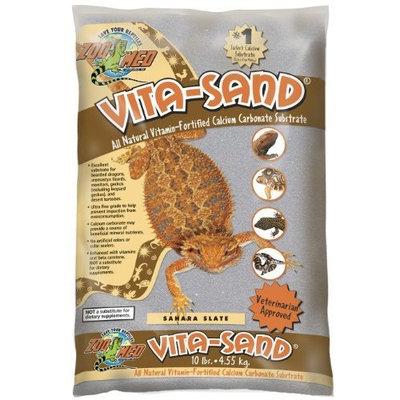 Zoo Med Vita Sand, 10 Pounds, Sahara Slate