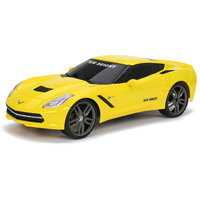 New Bright Bright 1:16 Radio-Control Full-Function Corvette, Blue