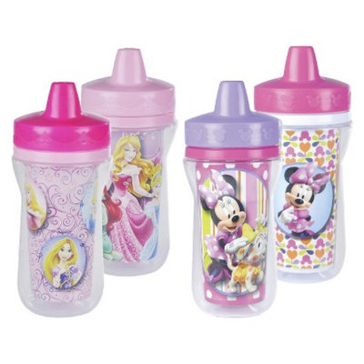 The First Years 4pk Disney Minnie Mouse/Princess Sippy Cup