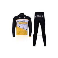 2012 LIVESTRONG team harness long-sleeved cycling clothing / bike clothing breathable perspiration