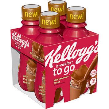 Kellogg's To-Go Chocolate Protein Shake 10 oz 4 ct