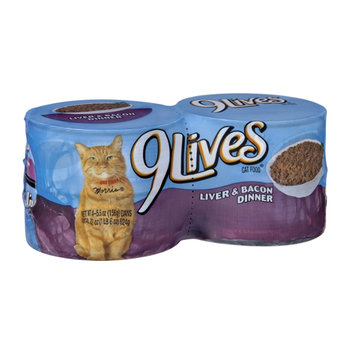 9Lives Liver & Bacon Cat Food - 4 CT