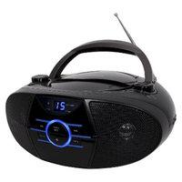 Jensen AM/FM Radio Boombox with LED Display - Black (CD-560)