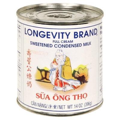 Longevity Sweetened Condensed Milk, 14-Ounce (Pack of 4)