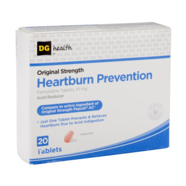 DG Health Heartburn Prevention - Tablets, 20 ct