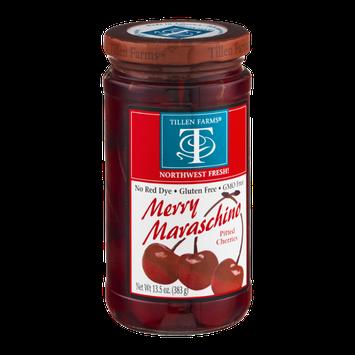 Tillen Farms Gluten Free Pitted Cherries Merry Maraschino