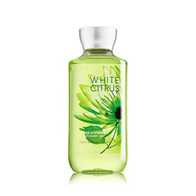 Bath & Body Works Bath and Body Works Shea Enriched Shower Gel New Improved Formula 10 Oz. (White Citrus)