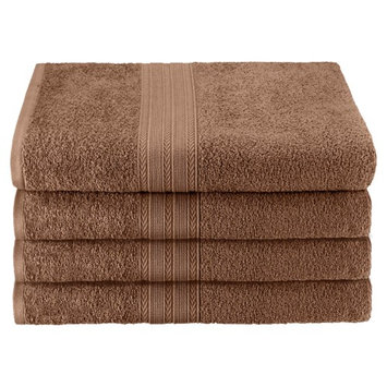 Home City Inc Superior Eco Friendly Cotton Soft and Absorbent Bath Towel (set of 4)