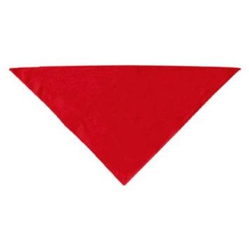 Pet Products Dog Supplies Plain Bandana Red Large