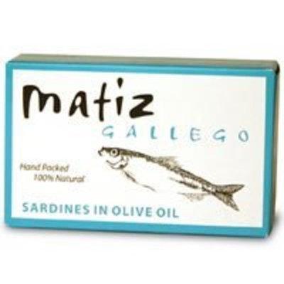 Casa Oliver Sardines in Olive Oil Case of 25 From Matiz