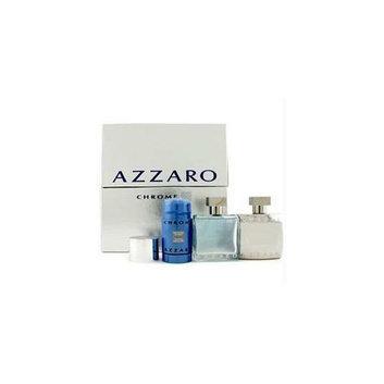 Loris Azzaro 12970341414 Chrome Coffret: Eau De Toilette Spray 50ml-1. 7oz plus After Shave Lotion 50ml-1. 7ozplus Deodora