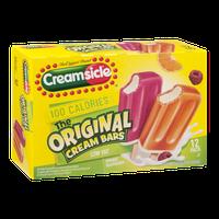 Creamsicle Original Cream Bars Low Fat Orange Raspberry - 12 CT
