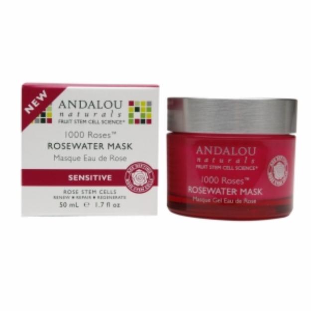Andalou Naturals 1000 Roses Rosewater Mask, 1.7 fl oz