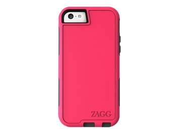 ZAGG ZCARSPNK107 Arsenal - Back cover for cell phone - hot pink - for Apple iPhone 5c