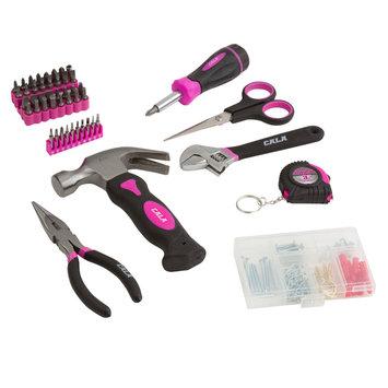 David Shaw Silverware Na Ltd Cala Pink 151 Piece Home Repair Set - David Shaw Silverware NA LTD