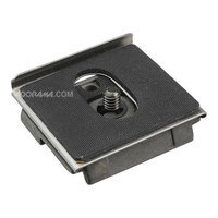 Manfrotto Anti Twist Plate 1/4 with Additional Lip to Prevent Camera Twist.