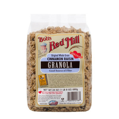 Bob's Red Mill Granola Cinnamon Raisin 24 oz