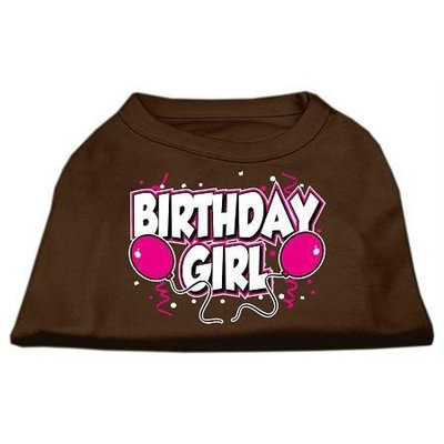 Ahi Birthday Girl Screen Print Shirts Brown Med (12)
