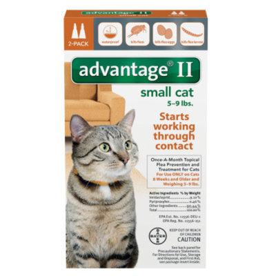 AdvantageA II 2-Pack Flea Prevention & Treatment