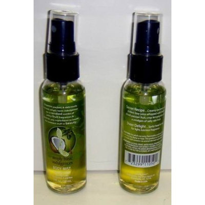 DDI Simply Basic Coconut Twist 2 Oz. Body Mist Spray Case Pack 72
