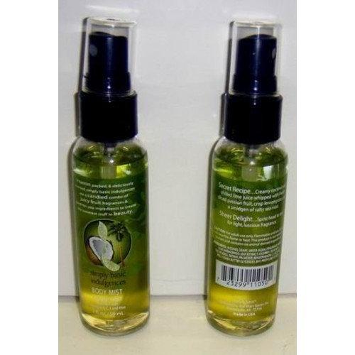 DDI Simply Basic Coconut Twist 2 Oz. Body Mist Spray Case Pack 72