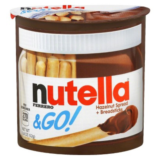 Nutella & Go! Hazelnut Spread + Breadsticks