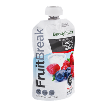 Buddy Fruits FruitBreak Blended Fruit with Greek Yogurt & Berries