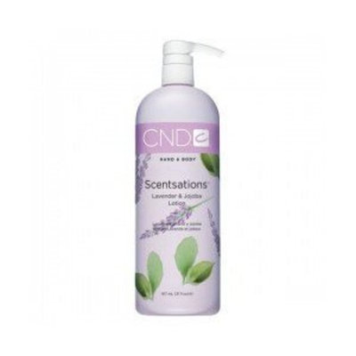 Cnd Cosmetics CND Scentsations Hand and Body Lotion - Lavender and Jajoba - 31oz