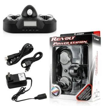SNAKEBYTE Snakebyte Sony Playstation 3 PS3 RE VOLT Power Station Black