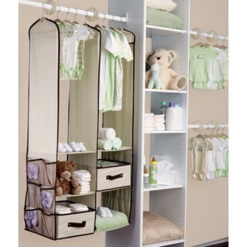 Delta Children Delta Nursery Closet Organizer - Beige (24 Pieces)