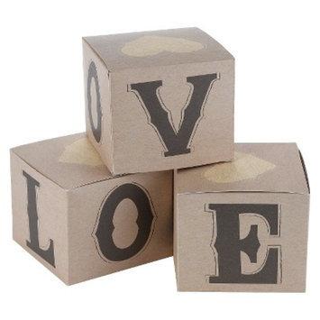 Hortense B. Hewitt Rustic Love Cup Cake Boxes