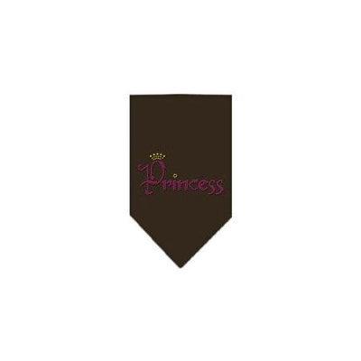 Ahi Princess Rhinestone Bandana Cocoa Small