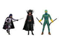 NECA Kick Ass 2 - 7 inch Scale Action Figure- Complete Set