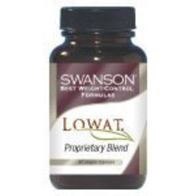 Swanson Best Weight Control Formulas Lowat 90 Veg Caps