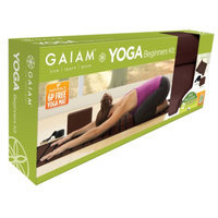 Gaiam Yoga Beginners Kit Cocoa, 1 ea
