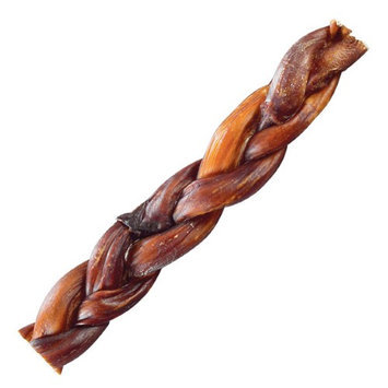Pet Pals RR517 07 Ranch Rewards Braided Bully Stick 7 In