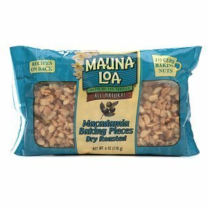 Mauna Loa Roasted Unsalted Macadamia Nut Baking Pieces