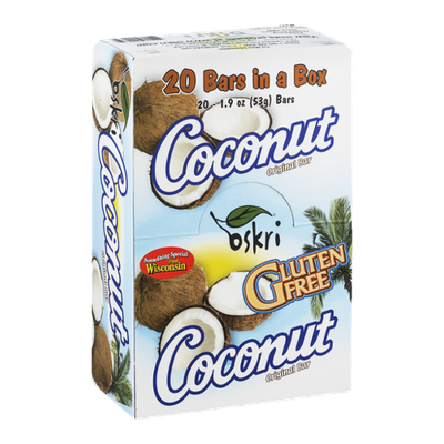Oskri Coconut Bar Original - 20 CT