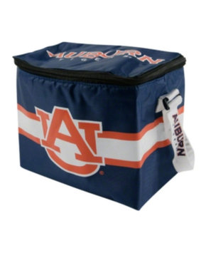Forever Collectibles Auburn Tigers 6-Pack Lunch Cooler