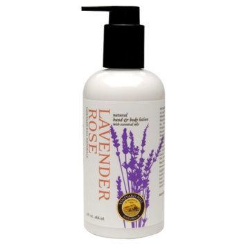 Vineyard Hill Naturals Natural Body Lotion, Lavender Rose, 9 fl oz
