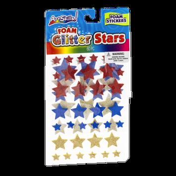 ArtSkills Glitter Stars Foam Stickers - 60 CT