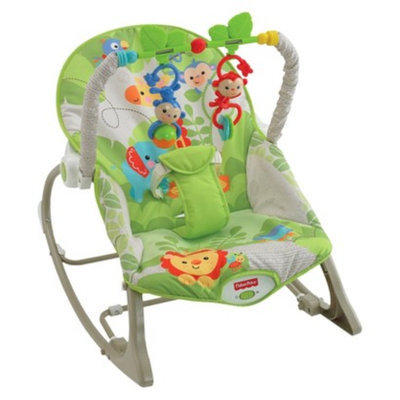 Fisher-Price Infant-to-Toddler Rocker - Rainforest Friends