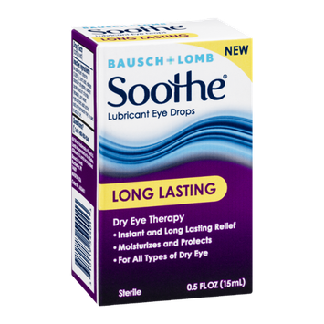 Bausch + Lomb Soothe Lubricant Eye Drops Long Lasting